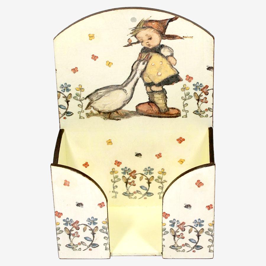 Gyermekmintás papírzsebkendő-tartó